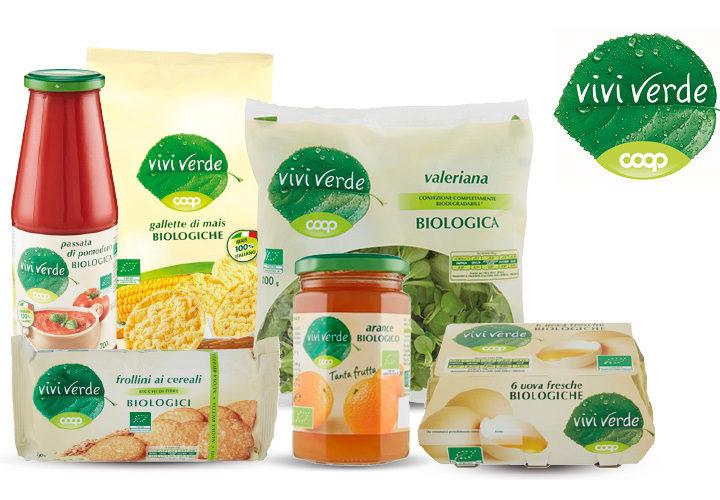 Prodotti biologici Vivi Verde Coop